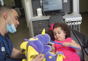 dental care for kids at Villa Dental