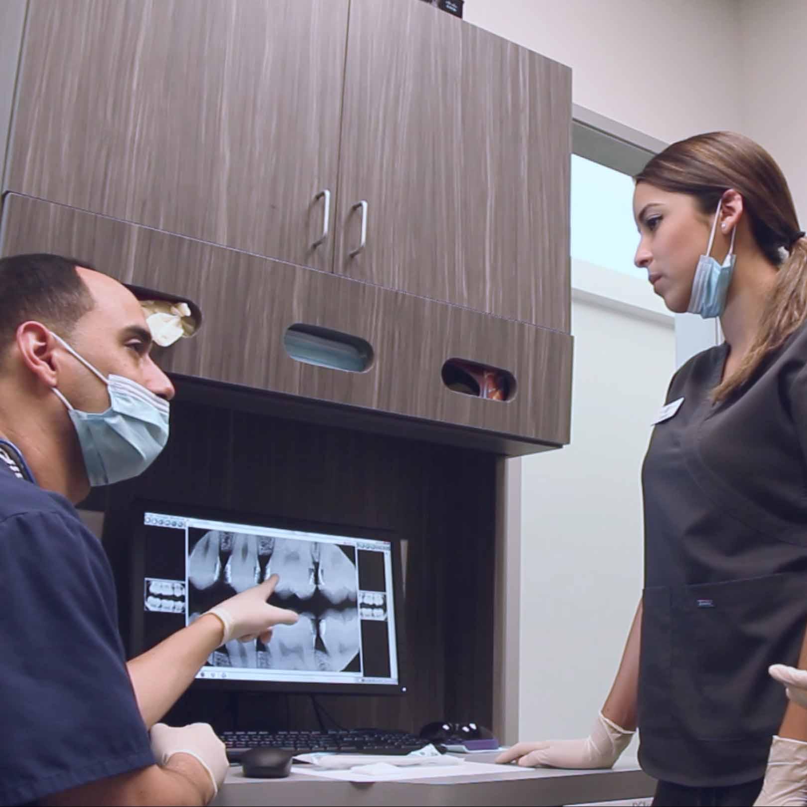 oral cancer screenings at Villa Dental
