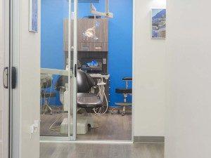 Oral care chair at Villa Dental